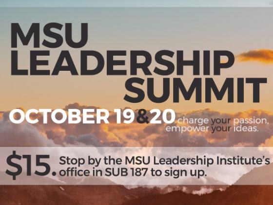 MSU Leadership Summit Fall 2018