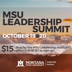 MSU Leadership Summit Fall 2018