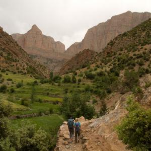 A mountain path