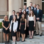 MSU students at the National Student Advertising Competition in Boise, Idaho.