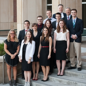 MSU students at the National Student Advertising Competition in Boise, Idaho. |