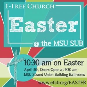Easter @ the MSU SUB