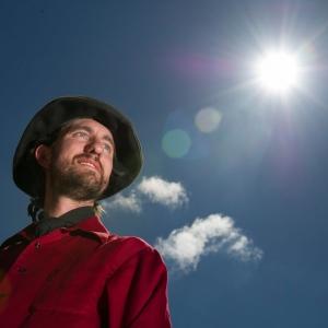 MSU solar physics post-doctoral researcher Sean Brannon.