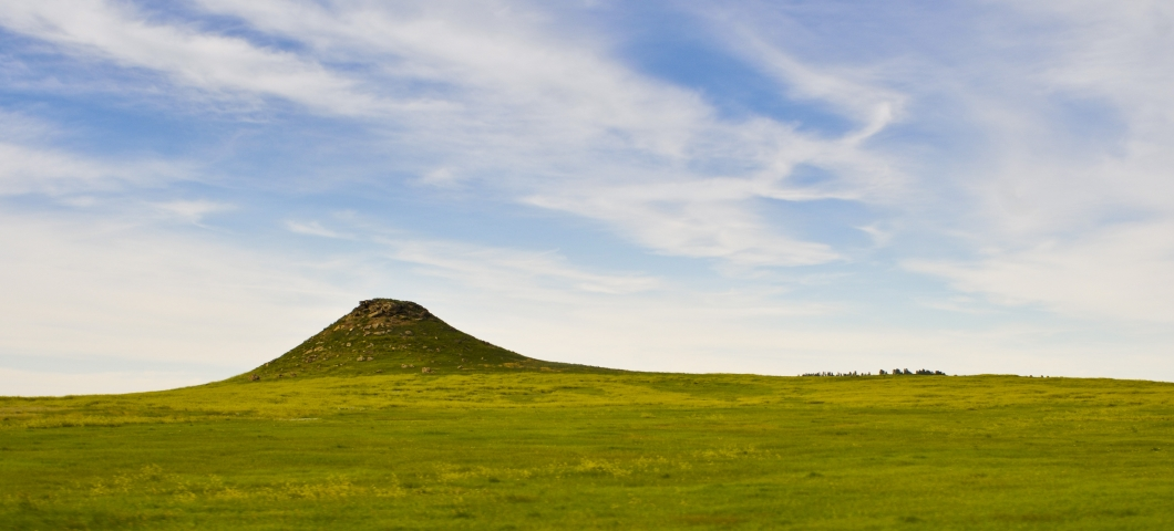 Grasslands with Hill