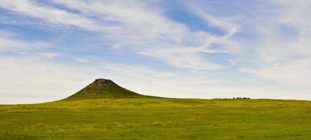 Grasslands with Hill