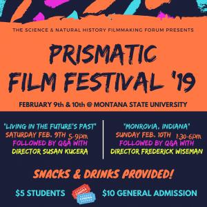 Prismatic Film Festival '19