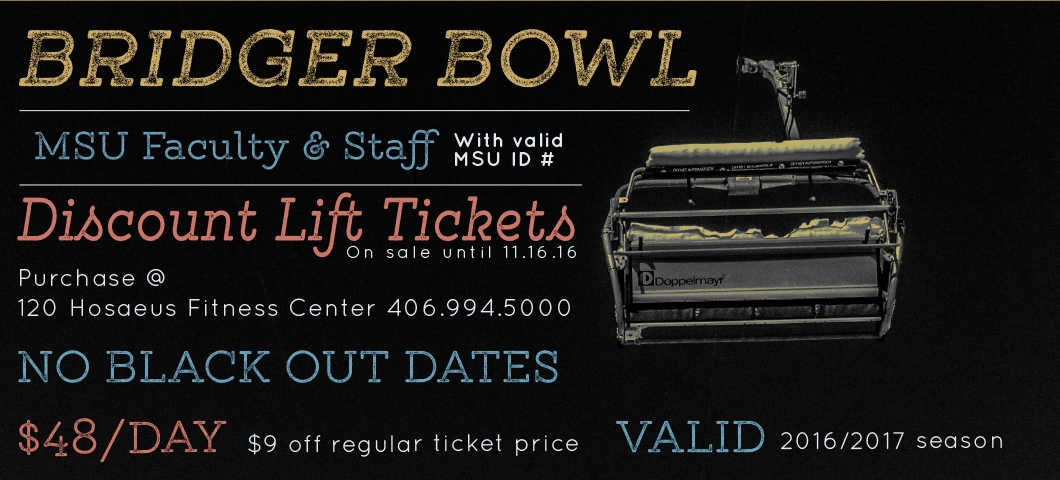 Bridger Bowl ticket sale