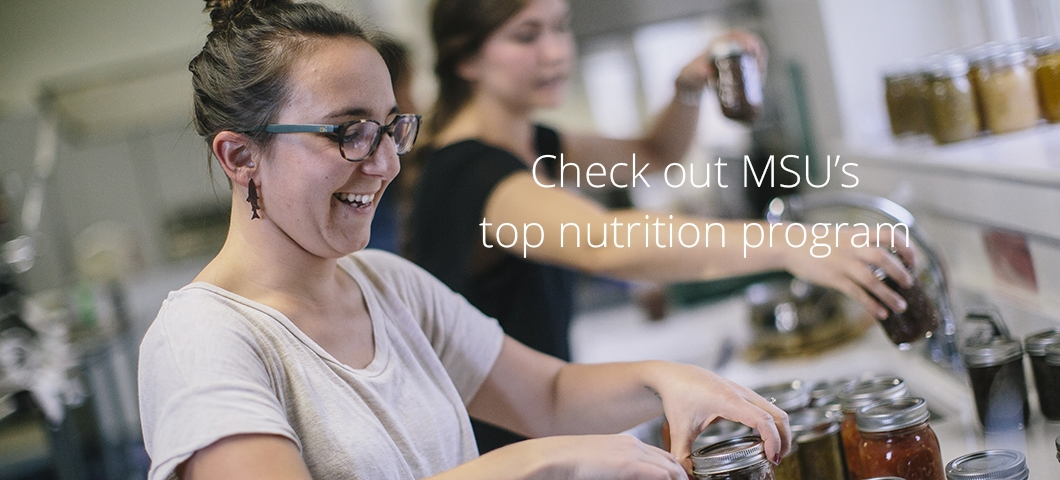 Check out MSU's top nutrition program