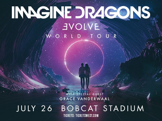 Imagine Dragons in concert at Bobcat Stadium on July 26 | MSU