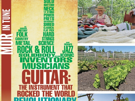 "Living History Farm & ""GUITAR: The Instrument That Rocked The World"" Open Today"