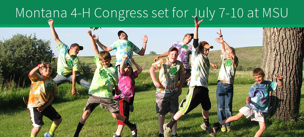 Montana 4-H Congress set for July 7-10 at MSU |