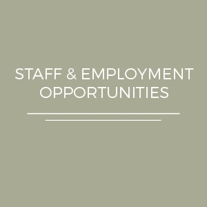 Staff and Employment Opportunities