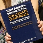 Members of the MSU American Marketing Association chapter at the 39th Annual International Collegiate Conference.