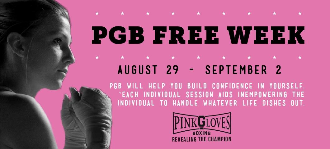 PGB FREE WEEK