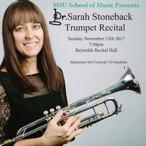 Trumpet Recital Poster