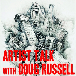 artist talk with Doug Russell