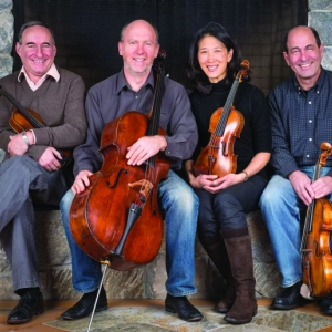 Muir Quartet with their Instruments
