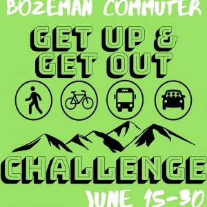"""The Bozeman Commuter Project - """"Get Up & Get Out"""" Challenge"""