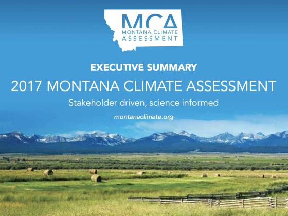 2017 MONTANA CLIMATE ASSESSMENT