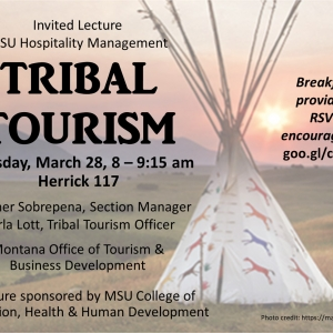 Invited Lecture – Tribal Tourism