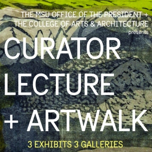 Curator lecture + Artwalk
