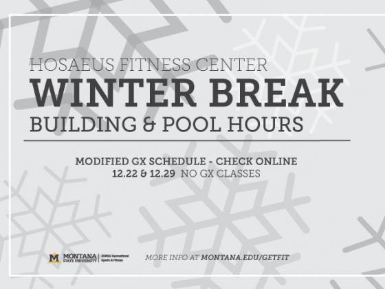 Fitness Center Winter Break Hours |
