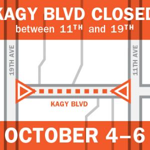 Kagy will be closed Oct 4-6