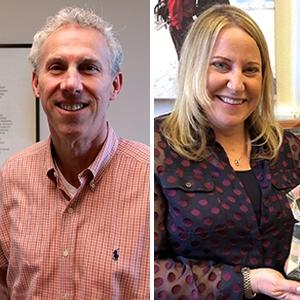 Phil Stewart and Christine Foreman