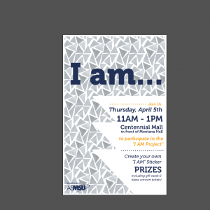 I Am Project Poster