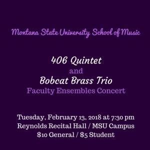 406 Quintet/Bobcat Brass Trio