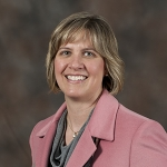 Jenni West, associate director of Montana State University's Montana Manufacturing Extension Center, has been elected chair of the Montana District Export Council. Photo by Neil Hetherington.