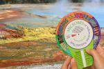 Yellowstone National Park colorwheel |