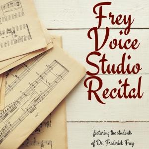 Frey Studio Recital Poster