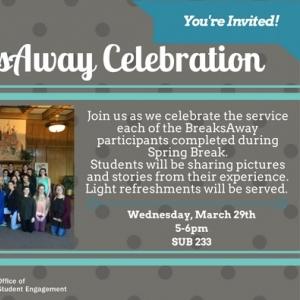 BA Celebration Invitation
