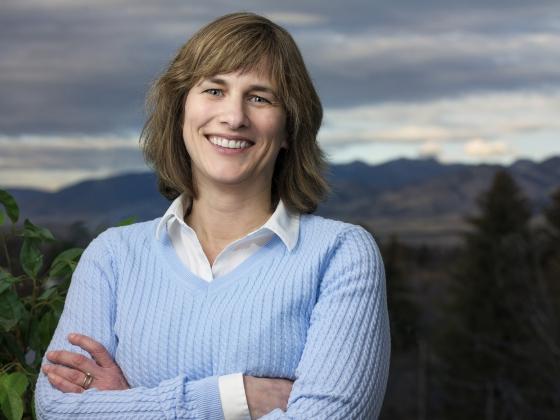 Elizabeth Burroughs, head of the MSU Department of Mathematical Sciences   MSU photo by Kelly Gorham