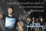 Luke Bryan to perform April 22 at the Brick Breeden Fieldhouse |