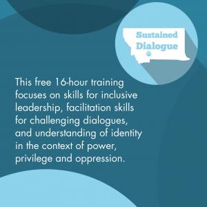 Sustained Dialogue Facilitation Training