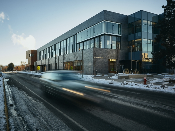 Exterior view of Norm Asbjornson Hall | MSU Photo by Adrian Sanchez-Gonzalez