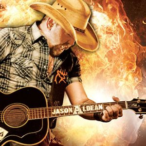 Jason Aldean plays guitar