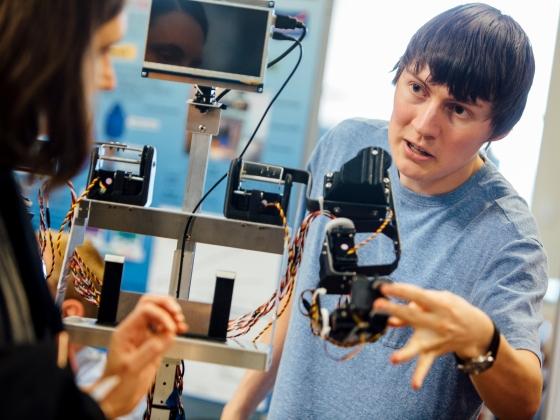 College of Engineering Design Fair | MSU Photo by Adrian Sanchez-Gonzalez