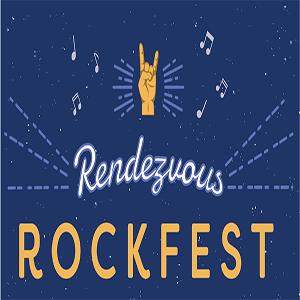 MSU Rendezvous Rockfest Logo