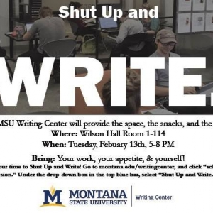 Shut Up and Write April 13