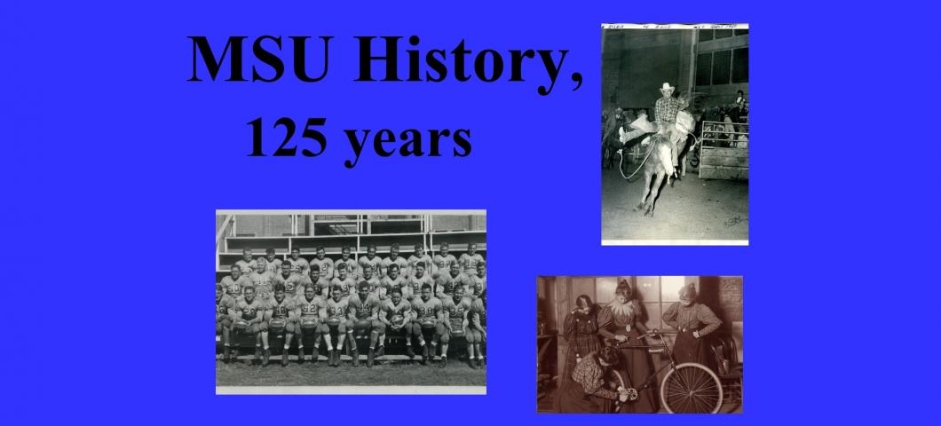 Spec Coll Display - MSU History - 3