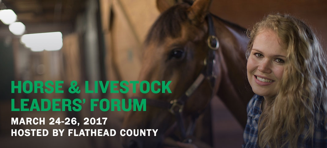 MT 4-H Horse and Livestock Leaders' Forum