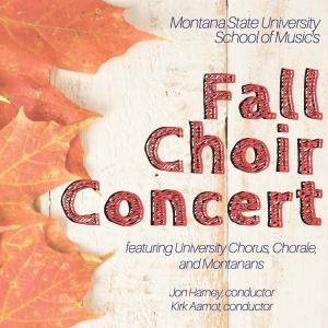 Fall Choir Concert Poster