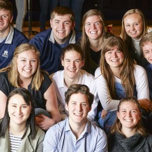 members of the choir