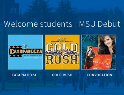 Welcome Students | MSU Debut |