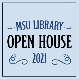 Library Open House Graphic