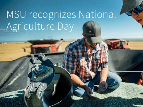 MSU recognizes National Agriculture Day | Adrian Sanchez-Gonzalez/MSU