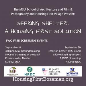 Seeking Shelter:  A Housing First Solution